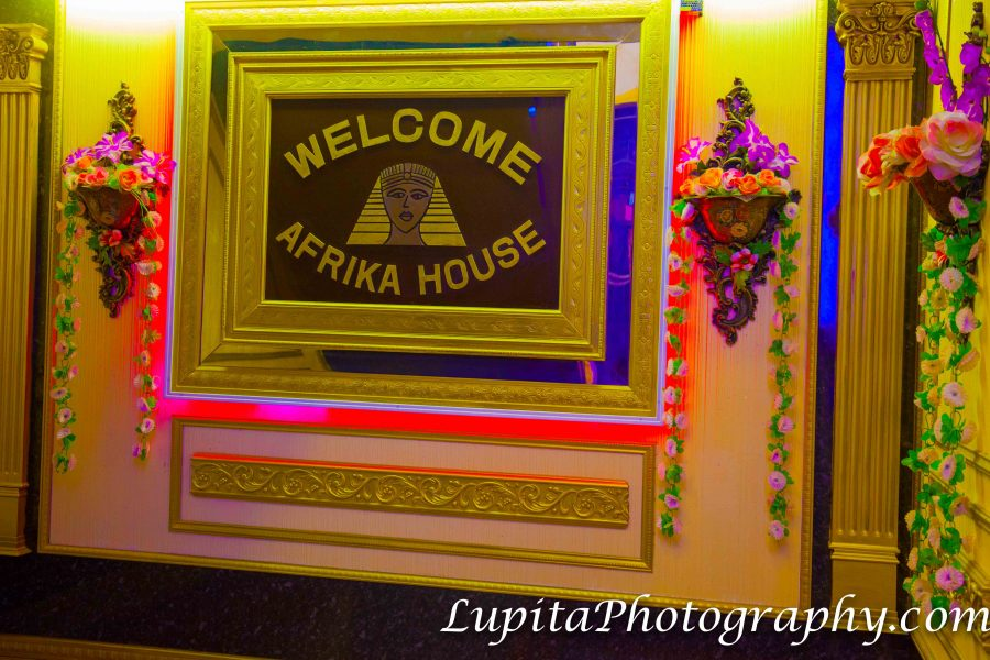 Afrika House. Banquet and Catering Hall. 2265 Bedford Ave. Brooklyn, NYC.