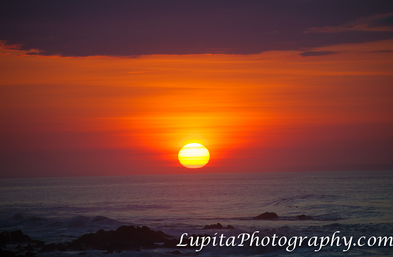 Playa Ventura, Copala. Guerrero, México - Hermoso amanecer. Beautiful sunrise.