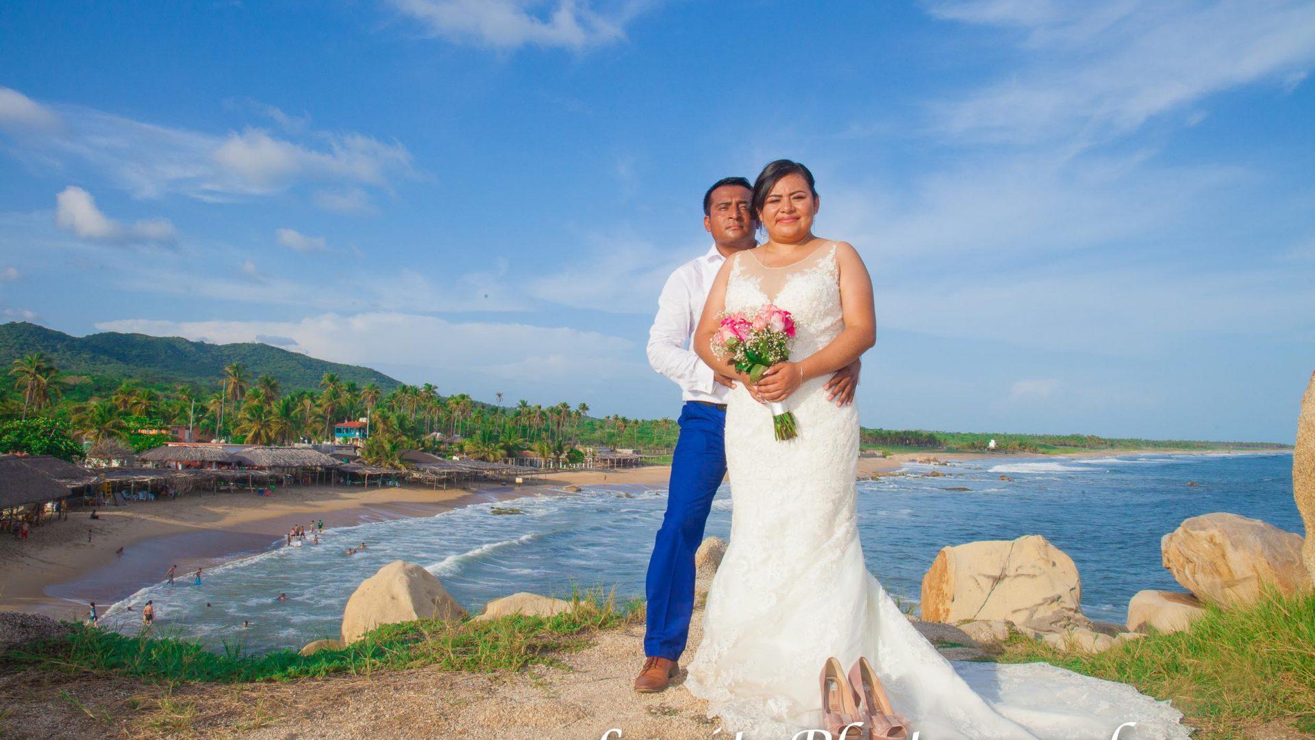 Hermosa boda a la Mexicana en México.
