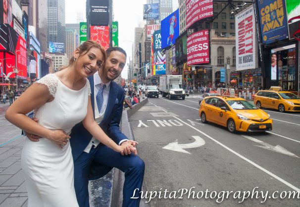 Couple from Spain in New York City.