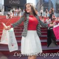 Quinceañera in Times Square, NYC.