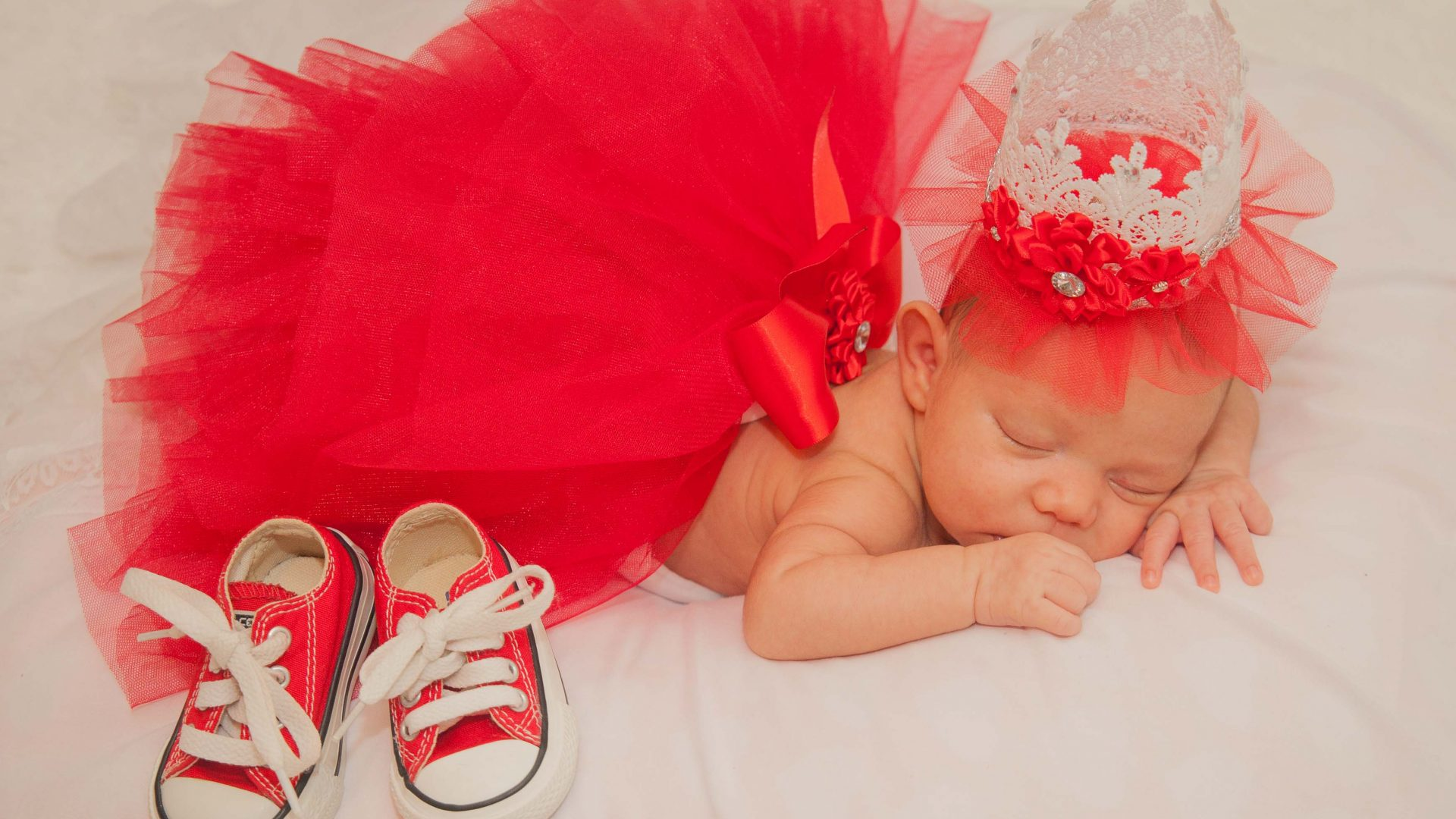 Bebé recién nacida en la Ciudad de Nueva York.